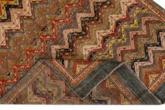 Vintage Persian Tribal Wool Rug - 1559137