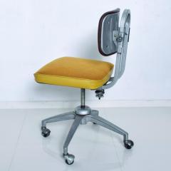 Vintage Rolling Industrial COSCO Tanker Office Desk Chair - 1234999