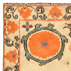 Vintage Samarkand Khotan Carpet - 490356