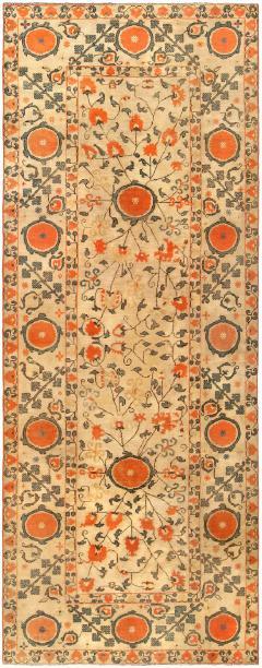 Vintage Samarkand Khotan Carpet - 905756