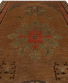Vintage Samarkand Rug - 485713