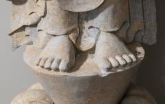 Vintage Sandstone Sculpture of Buddha in the style of the Tang And Wei Dynasties - 2000836