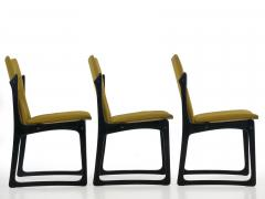 Vintage Set of Six Danish Mid Century Modern Dining Chairs by Stolefabrik - 1065422