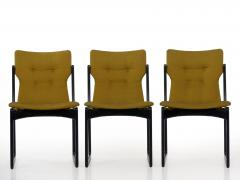 Vintage Set of Six Danish Mid Century Modern Dining Chairs by Stolefabrik - 1065423