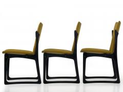Vintage Set of Six Danish Mid Century Modern Dining Chairs by Stolefabrik - 1065425