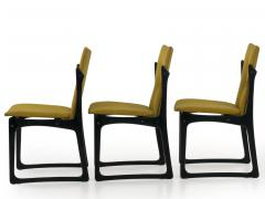Vintage Set of Six Danish Mid Century Modern Dining Chairs by Stolefabrik - 1065429