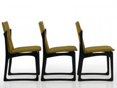 Vintage Set of Six Danish Mid Century Modern Dining Chairs by Stolefabrik - 1065432