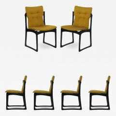 Vintage Set of Six Danish Mid Century Modern Dining Chairs by Stolefabrik - 1065906