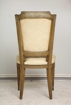 Vintage Set of Six Louis XVI Style Painted Dining Room Chairs - 2067006