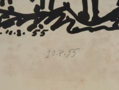 Vintage Signed Lithograph Don Quixote Of Pablo Picasso  - 944572