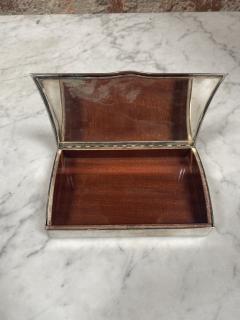 Vintage Silver Decorative Box Italy 1960s - 2074742