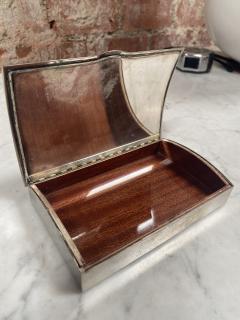 Vintage Silver Decorative Box Italy 1960s - 2074743