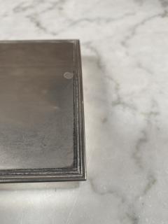 Vintage Silver Decorative Box Italy 1960s - 2074744