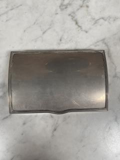 Vintage Silver Decorative Box Italy 1960s - 2074745