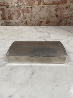 Vintage Silver Decorative Box Italy 1960s - 2074746