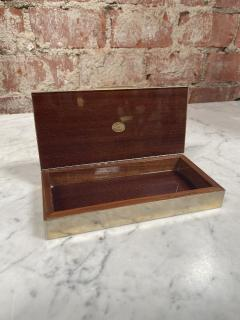 Vintage Silver and Gold Box Italy 1970s - 2074766