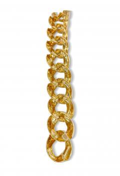 Vintage Solid 18K Gold Link Bracelet - 2057637