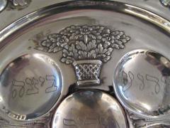 Vintage Sterling Silver Seder Plate - 1178709