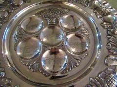 Vintage Sterling Silver Seder Plate - 1178711