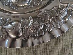 Vintage Sterling Silver Seder Plate - 1178712