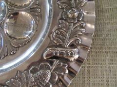 Vintage Sterling Silver Seder Plate - 1178715