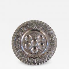 Vintage Sterling Silver Seder Plate - 1179735