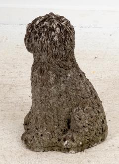 Vintage Stone Sheep Dog - 1953851