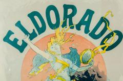 Vintage Wood Framed Poster Eldorado - 541706