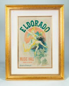 Vintage Wood Framed Poster Eldorado - 541712