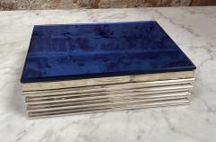 Vintage decorative Blue Box 1970s - 2112016