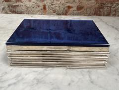 Vintage decorative Blue Box 1970s - 2112018