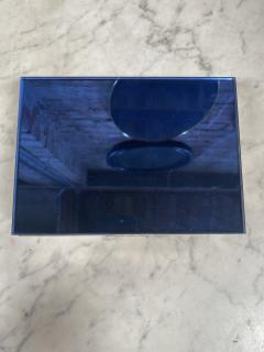 Vintage decorative Blue Box 1970s - 2112019