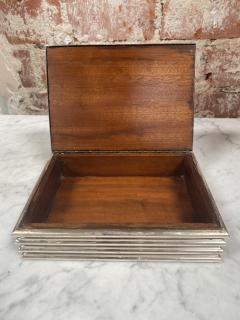 Vintage decorative Blue Box 1970s - 2112020