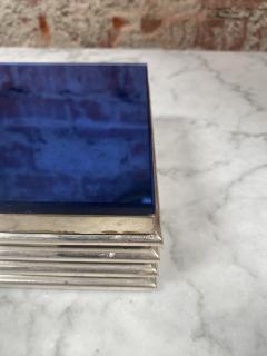 Vintage decorative Blue Box 1970s - 2112022