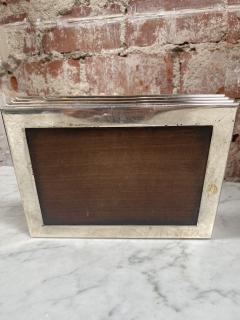 Vintage decorative Blue Box 1970s - 2112023