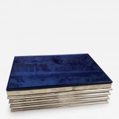 Vintage decorative Blue Box 1970s - 2112852