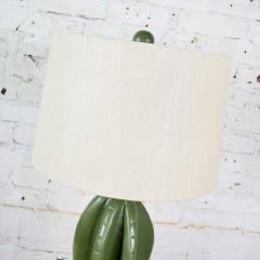 Vintage organic modern plaster faux cactus floor lamp by alsy - 1682227