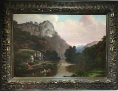 Virgil Williams Outing on the Merced River near Half Dome Yosemite - 1576220