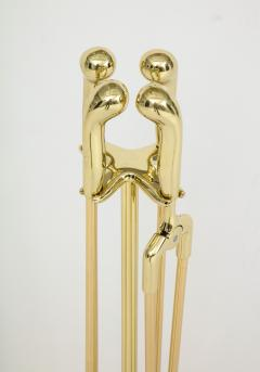 Virginia Metalcrafters VMC Solid Brass Fireplace Tools - 755886