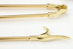 Virginia Metalcrafters VMC Solid Brass Fireplace Tools - 755890