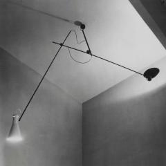 Vittoriano Vigano Vittoriano Vigan VV Suspension Lamp in Black and Brass - 930578