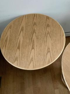 Vittorio Bonacina Late 60s Pair of Side Table in Wood and Rattan - 1210002