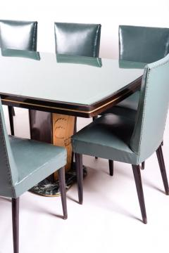 Vittorio Dassi Dining Table and Eight Chairs by Vittorio Dassi 1950s - 636844