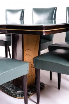 Vittorio Dassi Dining Table and Eight Chairs by Vittorio Dassi 1950s - 636846