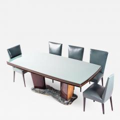 Vittorio Dassi Dining Table and Eight Chairs by Vittorio Dassi 1950s - 637737
