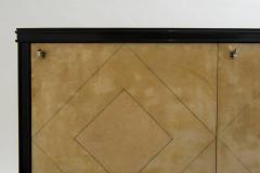 Vittorio Dassi Italian Art Deco Lacquered Goatskin Credenza by Vittorio Dassi - 583315