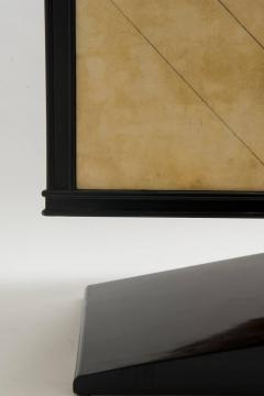 Vittorio Dassi Italian Art Deco Lacquered Goatskin Credenza by Vittorio Dassi - 583316