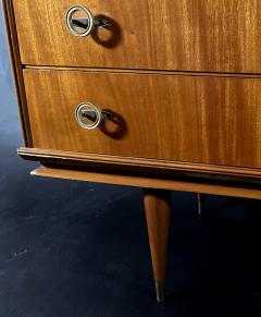 Vittorio Dassi Italian Modern Mahogany and Bronze 6 Drawer Chest Vittorio Dassi - 1463976