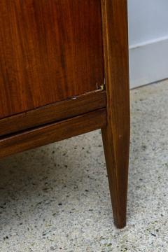 Vittorio Dassi Italian Modern Palisander Walnut and Brass Long Credenza Vittorio Dassi - 373152