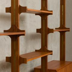 Vittorio Dassi Italian wall unit or room divider in Dassi style - 985466